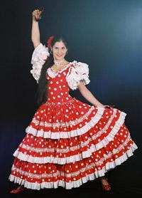 Spaanse dans soorten
